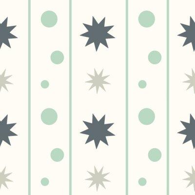Fotomural Abstratos geométricos seamless vetorial padrão fundo ilustração