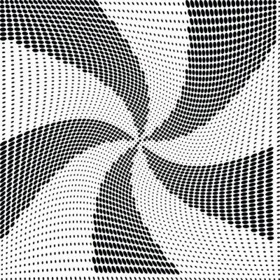 Fotomural Abstratos, meio-tom, ponto, vetorial