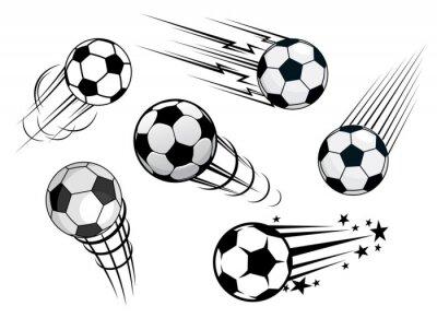 Fotomural Acelerar bolas ou bolas de futebol
