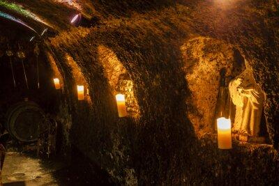 Fotomural Adega de vinhos em Velka Trna, região vinícola de Tokaj, Eslováquia