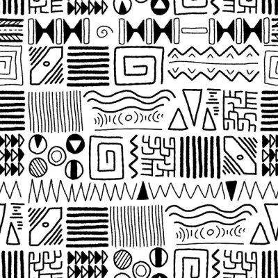 Fotomural African pattern
