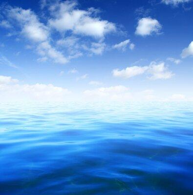 Fotomural Água do mar azul