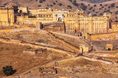 Fotomural Amer Amber fort, Rajasthan, Índia