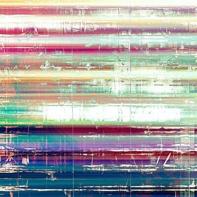 Fotomural Antigo fundo grunge abstrato, textura retro envelhecida. Com testes padrões diferentes da cor: amarelo (bege); Rosa; azul; branco; verde
