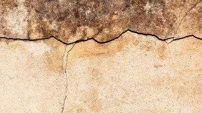 Fotomural Antigo fundo rachado da parede