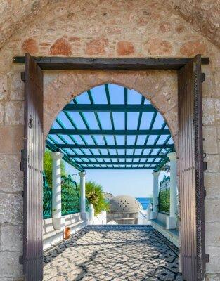 Fotomural Arco na fortaleza