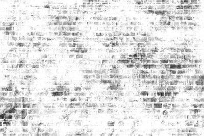 Fotomural Arte preto e branco da pintura de parede, imagem de fundo inspirada.