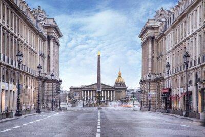 Fotomural Assemblée nationale et Place de la Concorde