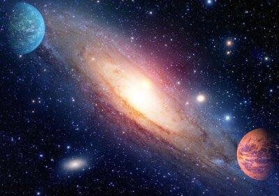 Fotomural Astrologia astronomia espaço exterior big bang sistema solar planeta galáxia criação. Elementos desta imagem fornecida pela NASA.