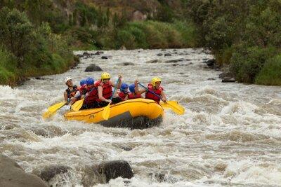 Fotomural Aventura em Rafting no Rio Whitewater
