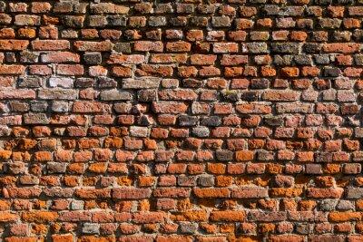 Fotomural Backstein Wand como Textur oder Hintergrund