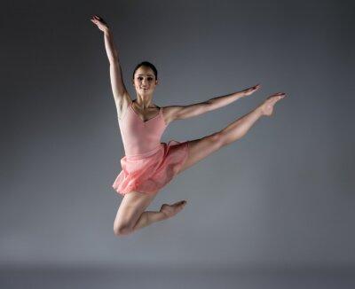 Fotomural Bailarino do sexo feminino