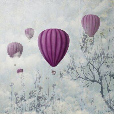 Fotomural Balões Rosa
