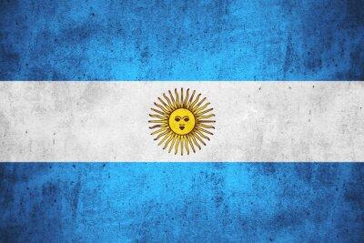 Fotomural Bandeira da Argentina