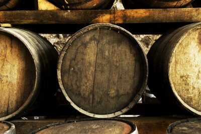 Fotomural Barris de vinho