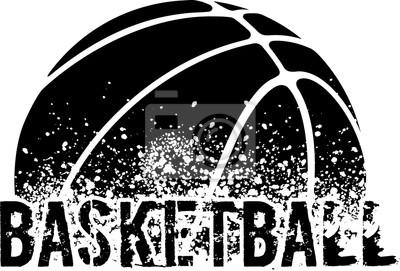 Fotomural Basketball Grunge