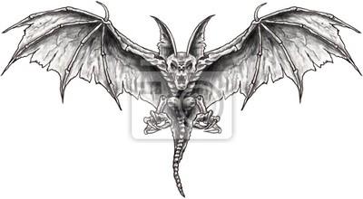 bat morcego desenho fotomural fotomurais cozinheiro loja fato