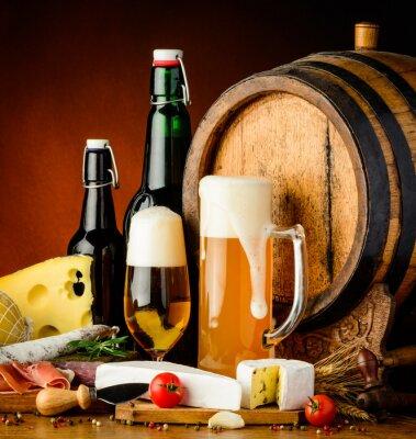 Fotomural bebidas cerveja