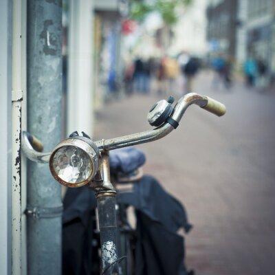 Fotomural Bicicleta em amsterdão
