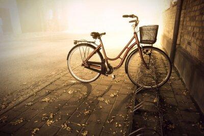 Fotomural Bicicleta no Outono