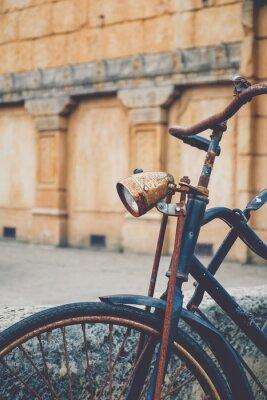 Fotomural Bicicleta oxidada velha