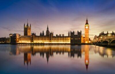 Fotomural Big Ben e Casa do Parlamento