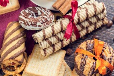 Fotomural Biscoitos, tabela