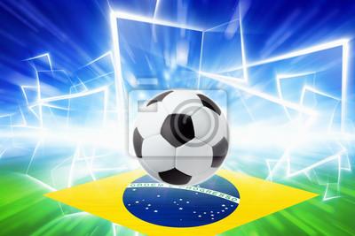 d608668b5f Fotomural Bola de futebol