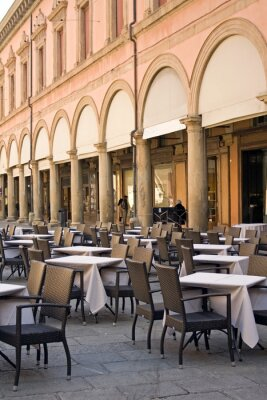 Fotomural Bolonha - restaurante