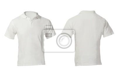 0be5059f3851b Branco branca modelo pólo dos homens fotomural • fotomurais ...