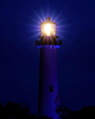 Fotomural Brilhante / Farol localizado em Jupiter, Flórida
