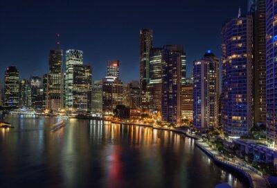 Fotomural Brisbane beira-mar