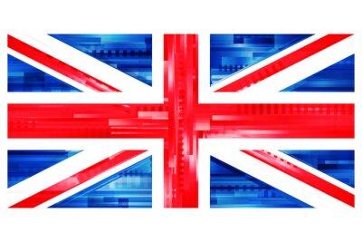Fotomural Brytyjska flaga wektor