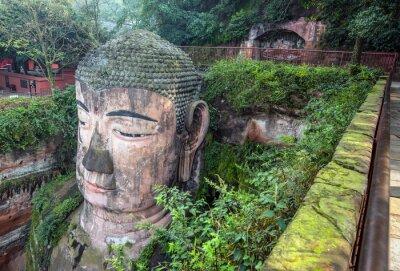 Fotomural Buda gigante (Da fo) - Leshan, Sichuan, China
