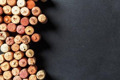 Fotomural Cacho de rolhas de vinho
