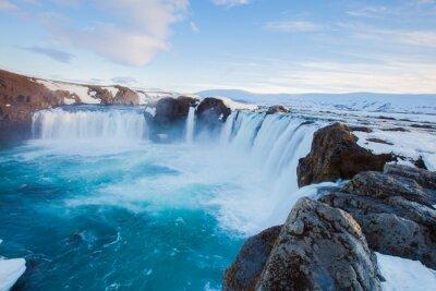 Fotomural Cachoeira de Godafoss, Islândia