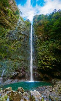 Fotomural Cachoeira no final da Levada Caldeirao Verde