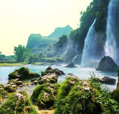 Fotomural Cachoeira no Vietnã