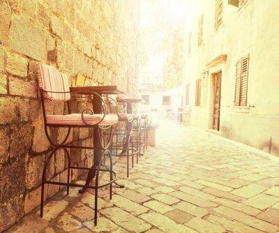Fotomural Café ao ar livre