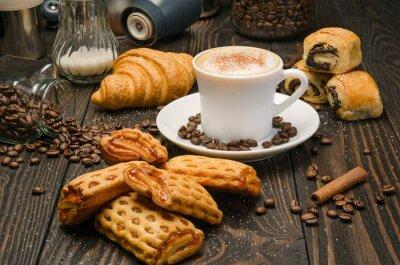 Fotomural Café e pastelaria