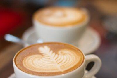 Fotomural Café tarde foco suave