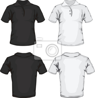 79521fce29f2c Camisa pólo de design de modelo fotomural • fotomurais parte ...