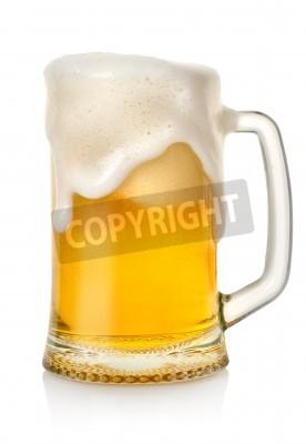 Fotomural Caneca com cerveja