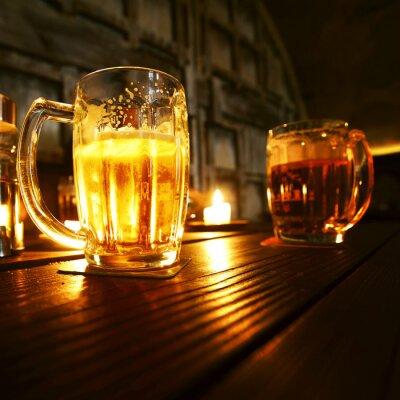 Fotomural Canecas de cerveja