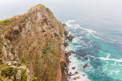 Fotomural Cape Point perto do Cabo da Boa Esperança África do Sul