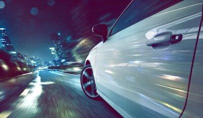 Fotomural Car at Night