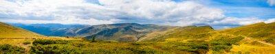 Fotomural Carpathian, montanhas, panorâmico