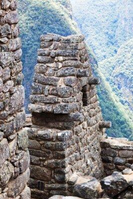 Fotomural Casa na cidade de Machu Picchu