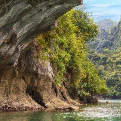 Fotomural Cavernas da baía de Halong