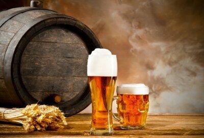 Fotomural Cerveja ainda vida